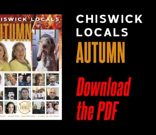 Chiswick, Chiswick W4, W4, Chiswick Locals, Chiswick Locals Autumn 2017, Autumn