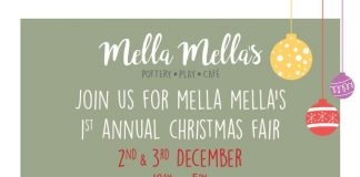 Chiswick W4 Pottery Cafe Mella Mellas