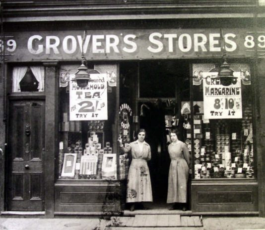 Hammersmith Grove Grovers Stores