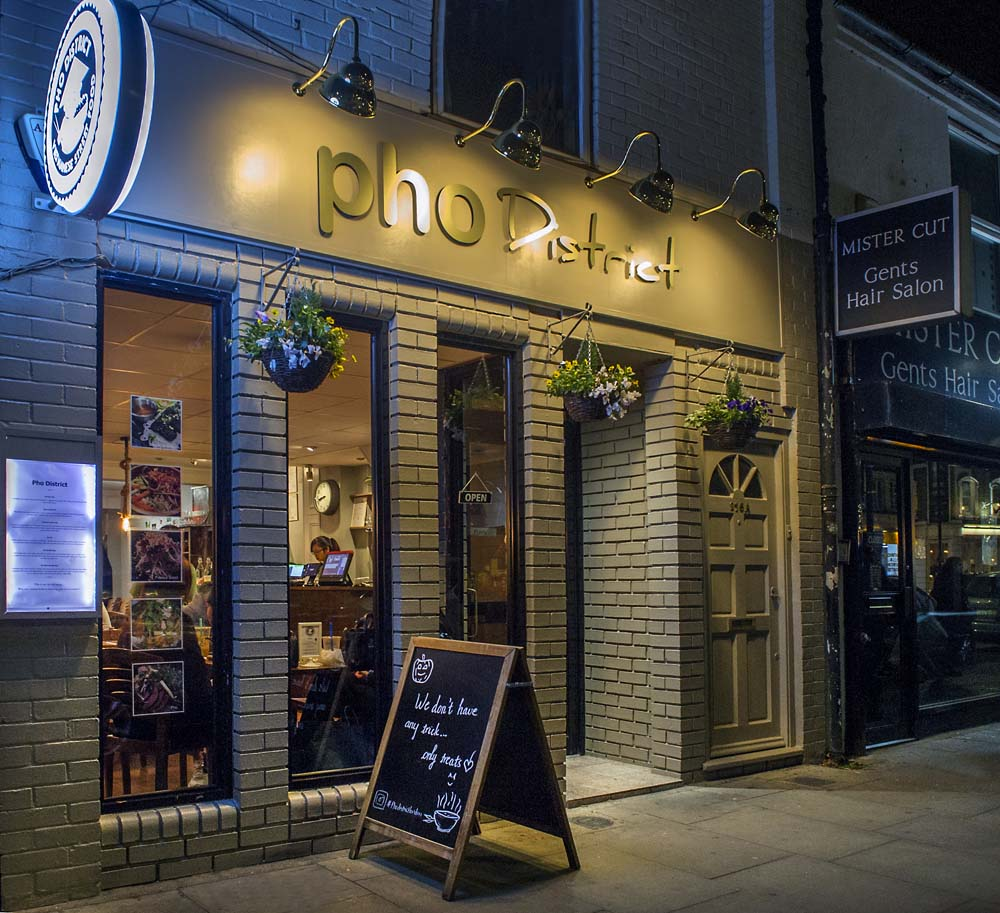 Hammersmith W6 Vietnamese Restaurant-Pho District
