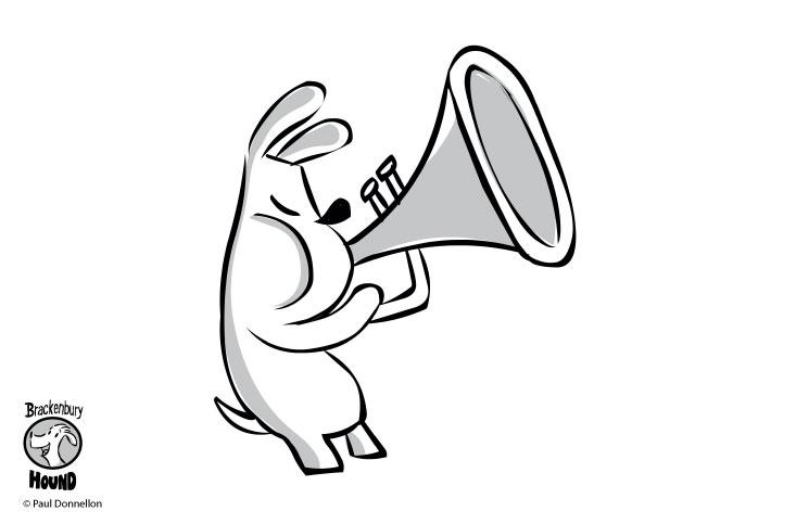 Keep-Things-Local-Brackenbury-Village-Brackenbury-Hound-Blowing-Trumpet