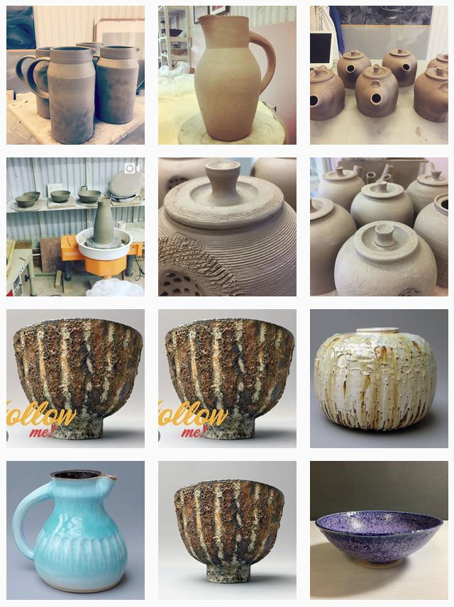 Artists at Home W6 José Carvalho Ceramics