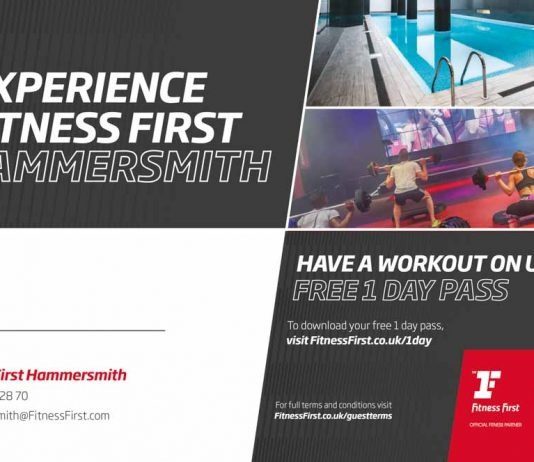 Fitness First Hammersmith: Have a workout on us - FREE 1 DAY PASS