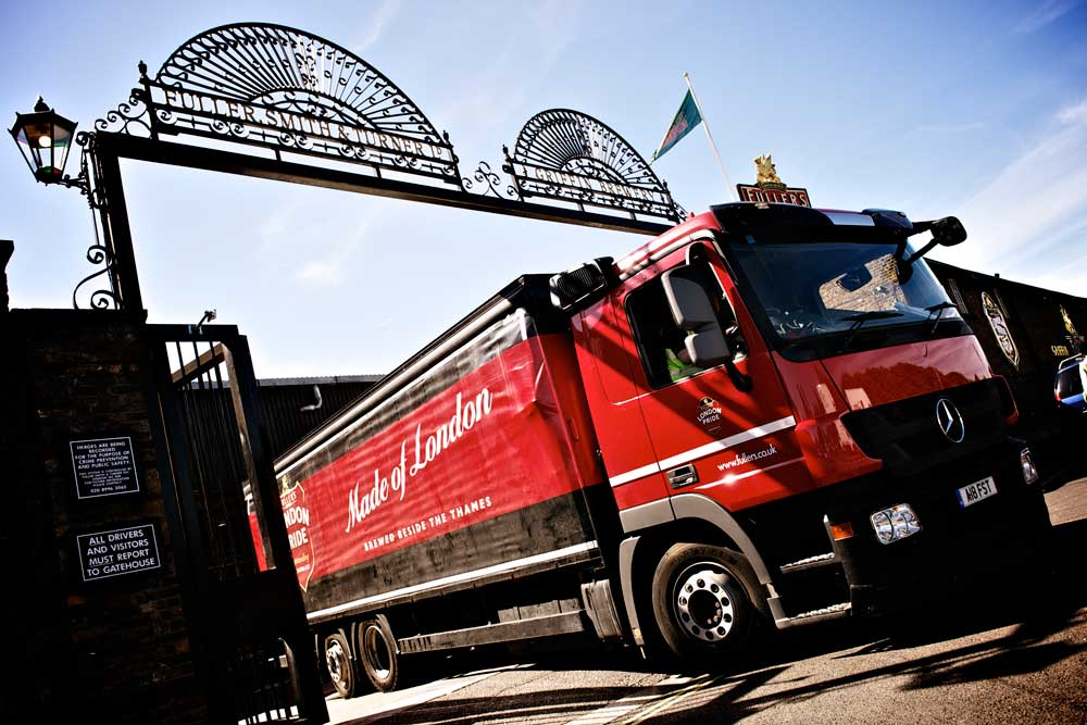 Fullers-brewery-Truck