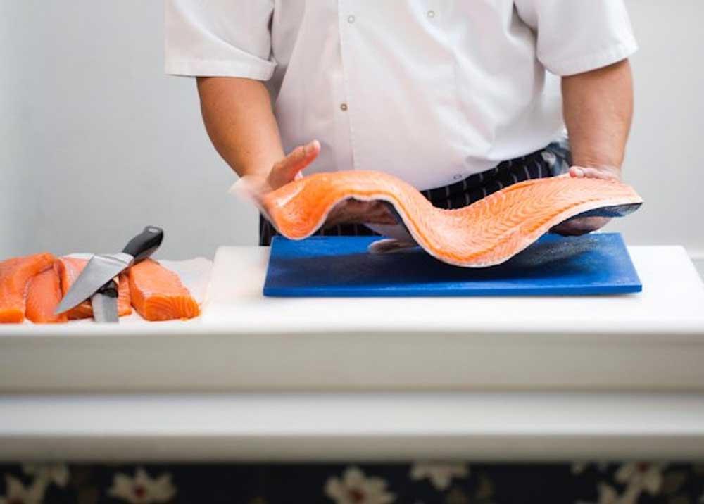 Yuma Sushi Chiswick W4 Jaime-Salmon